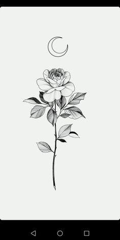 Armbeugen Tattoos, Dope Tattoos, Pretty Tattoos, Mini Tattoos, Beautiful Tattoos, Flower Tattoos, Black Tattoos, Body Art Tattoos, Small Tattoos