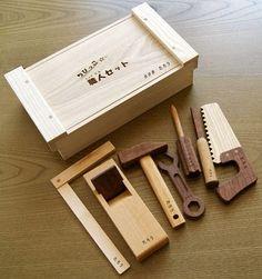 Sasaki Kogei... Wood toy tools