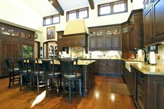 24 Kitchens with Jaw Dropping Cathedral Ceilings   HomeEpiphany.com
