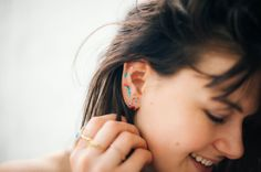 Follow this DIY tutorial to add some art to those earlobes… This post comes to you from beauty contributor, Kari Molvar. If you've already experimented with ear cuffs and tattoo jewelry, you're ready for the next breakout beauty trend: Ear makeup. You might be thinking: Whaat? But it's actually pretty simple—it's basically drawing makeup on your …