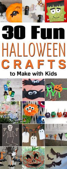 Easy Halloween Crafts for Kids to Make this October! Easy - halloween decorations for kids to make