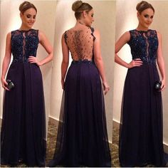 2016 New Arrival Sequined Chiffon Prom Dresses Evening Dresses