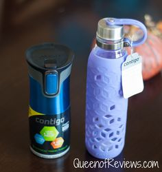 For Your Christmas List – The Contigo AUTOCLOSE Mug & Purity Petal Bottle