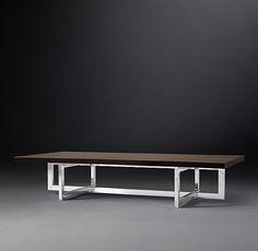 Linear Live-Edge Coffee Table