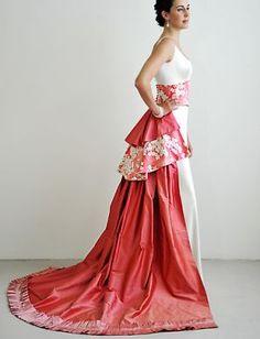 Japanese-style wedding dresses,