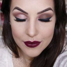 Como Aumentar e Diminuir os Olhos com Maquiagem - Bruna Malheiros Makeup : Bruna Malheiros Makeup