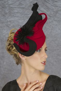 BY BELLINDA HAASE  #millinery #hats #HatAcademy