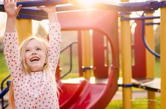 Letting kids play on a playground during the photo shoot-- genius! Letting kids play on a playground Playground Photo Shoot, Playground Photography, Kids Backyard Playground, Kids Photography Boys, Capture Photography, Park Photography, Children Playground, Playground Ideas, Playground Design