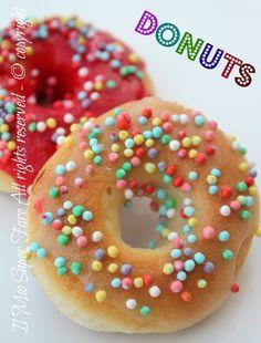 Donuts Doughnuts ciambelle americane al forno il mio saper fare