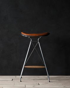 The Wire Barstool, inspired by traditional saddle-making // Overgaard & Dyrman, via Design Milk