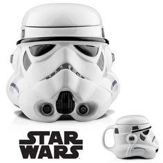 Mug 3D Stormtrooper Céramique Star Wars : Achat Cadeau Star Wars sur Rapid-Cadeau.com