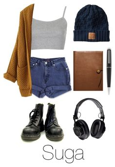 """Writing Music with Suga"" by btsoutfits ❤ liked on Polyvore featuring Jag, Topshop, Coach, Dunhill and Proenza Schouler"
