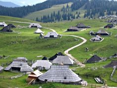 Slovenia has a lot of hiking and climbing to offer in its beautiful mountains. Old pastoral huts of Velika Planina are a real treat to visit!