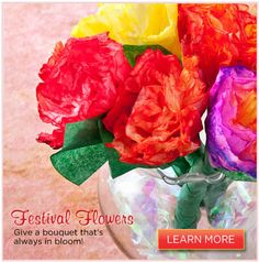 Give a bouquet that's always in bloom!