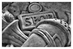 SPQR - http://www.flickr.com/photos/wandercata/2890709288/