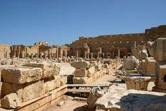 Severan Forum, Leptis Magna, Libya
