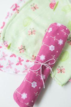 DIY Baby Shower : DIY Simple Baby Burp Cloths