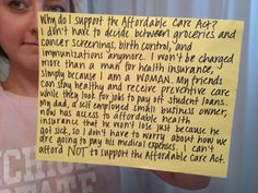 This week marks the 2nd anniversary of passage of the Affordable Care Act (ACA) and women across the country are applauding President Obama for signing it into law. ACA represents the greatest single advance for women's access to health care in a generation. Anti-women's health politicians want to take away these benefits by attacking the health care law and trying to repeal it. That is why we need to share our stories.     EMAIL:  liz.ratzloff@ppmchoice.org so we can help you share your…