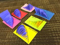 A couple summers ago, I made some really beautiful ( I think) models to represent the kinds of figures we find the volumes of in calculus (...