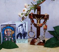 Irish Penal Rosary, Pocket Rosary, Picasso Jasper, One Decade Rosary by foodforthesoul on Etsy