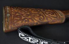 Enfield Rifle - Whakairo Rākau | NZ Māori Arts and Crafts