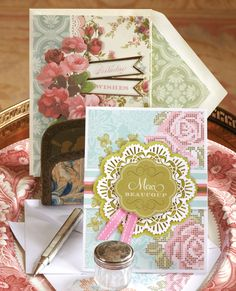 """Commemorate life's most memorable events, extend heartfelt condolences or simply say """"thanks"""" with Anna Griffin three-dimensional handmade greeting cards for birthday, anniversary, sympathy, and more. http://shop.annagriffin.com/"""