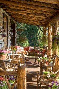 cool 40 Rustic Farmhouse Front Porch Decor https://homedecort.com/2017/06/40-rustic-farmhouse-front-porch-decor/