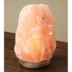 Himalayan Salt Lamps Myth : Salt Lamps on Pinterest Lamps, Fire Bowls and Air Purifier