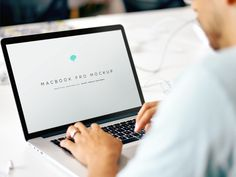 Working on MacBook Pro Mockup