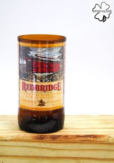 Items similar to Beer Bottle Cups and Planters Made From: Red Bridge - Honey Brown Lager - Samuel Adams Irish Red - Omission on Etsy Beer Bottle Cups, Whiskey Bottle, Window Plants, Samuel Adams, Bottle Cutting, Honey Brown, How To Make Beer, Preserves