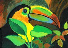 Rainforest/kids art