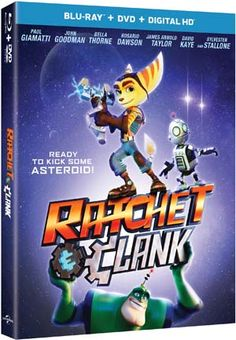 Ratchet and Clank Blu-ray Giveaway @ratchetmovie #RatchetAndClank