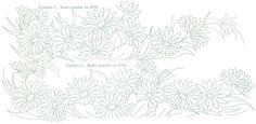 Pintura em Tecido Passo a Passo: Riscos - PARA TOALHAS DE BANHO