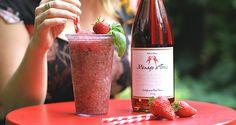 Slochetail fraise basilic rosé