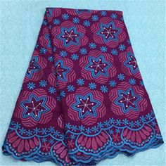 African Embroidery Lace Fabric LKLACE4301-16  https://www.lacekingdom.com/      #embroiderylace