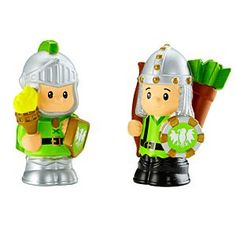 Little People® Green Knights | Mattel