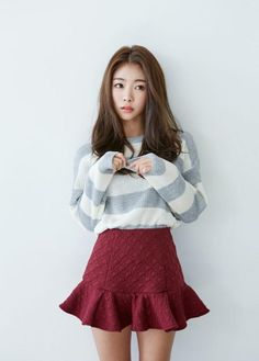 Korean fashion - ulzzang - ulzzang fashion - cute girl - cute out Korean Fashion Summer Casual, Korean Fashion Work, Korean Fashion Ulzzang, Korean Outfits, Japanese Fashion, Asian Fashion, Korean Style, Korean Ulzzang, Fashion Spring