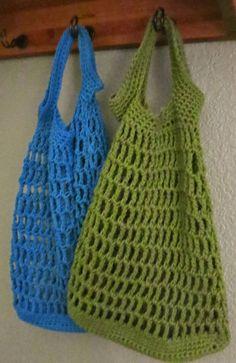 Da's Crochet Connection: Small Crochet Market Bag Pattern