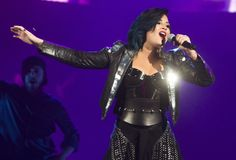 OCTOBER 5th - Demi performing at Scotiabank Saddledome in Calgary, AB.