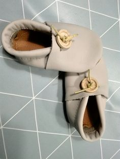 Cute, little recycled mocs