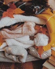 pile of sweaters Autumn Cozy, Autumn Feeling, Autumn Aesthetic, Cozy Aesthetic, Fall Pictures, Fall Pics, Happy Fall Y'all, Hello Autumn, Autumn Inspiration