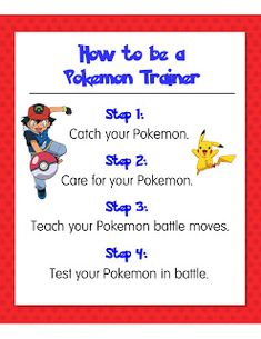 Craft, Interrupted: Pokemon Party: Games part 1 (with printables)