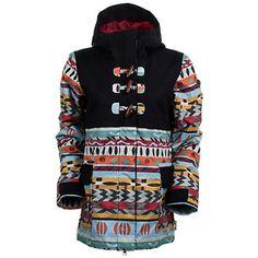 Roxy Beauty School Drop Out Womens Insulated Snowboard Jacket