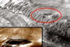 Um grupo de ufólogos acredita que a Nasa está escondendo uma base militar alienígena na superfície de Marte. A suspeita surgiu após a divulgação de uma imagem onde uma suposta construção pode ser vista.