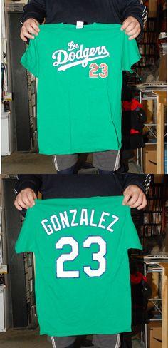 ADRIAN GONZALEZ LOS ANGELES DODGERS GREEN ST PATRICKS DAY LTD ED T SHIRT  JERSEY  8.99 fc09778cb0d