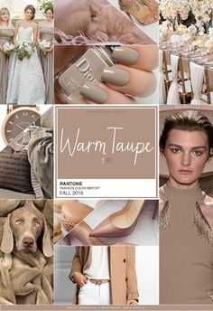 I adore Taupe! Looks great on just about anyone with everything. It's natural, warm and soft.