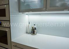 Küchnearbietsplatte aus Silestone Blanco zeus 2 cm poliert Silestone Blanco Zeus, Mirror, Countertop, Mirrors
