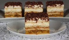 Herbatnikowa delicja Tiramisu, Cheesecake, Cooking Recipes, Sweets, Ethnic Recipes, Food, Bakken, Gummi Candy, Cheesecakes
