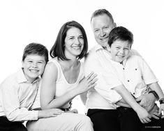 Family portrait photographs shot in studio. Studio Family Portraits, Studio Portrait Photography, Family Photography, Genuine Smile, Studio Shoot, Black And White Photography, Photographs, Couple Photos, Ideas