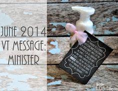 Little LDS Ideas: {Visiting Teaching} June 2014 VT Message- The Divine Mission of Jesus Christ: Minister